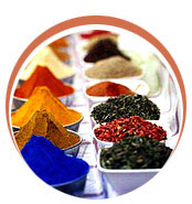 food colors, pigment intermediates, direct dyes, dyes intermediates, phase transfer catalysts